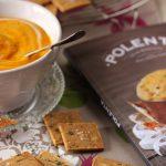 Crackers sans gluten a la polenta et chataigne