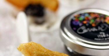 Tartare de noix de Saint-Jacques au caviar de noël