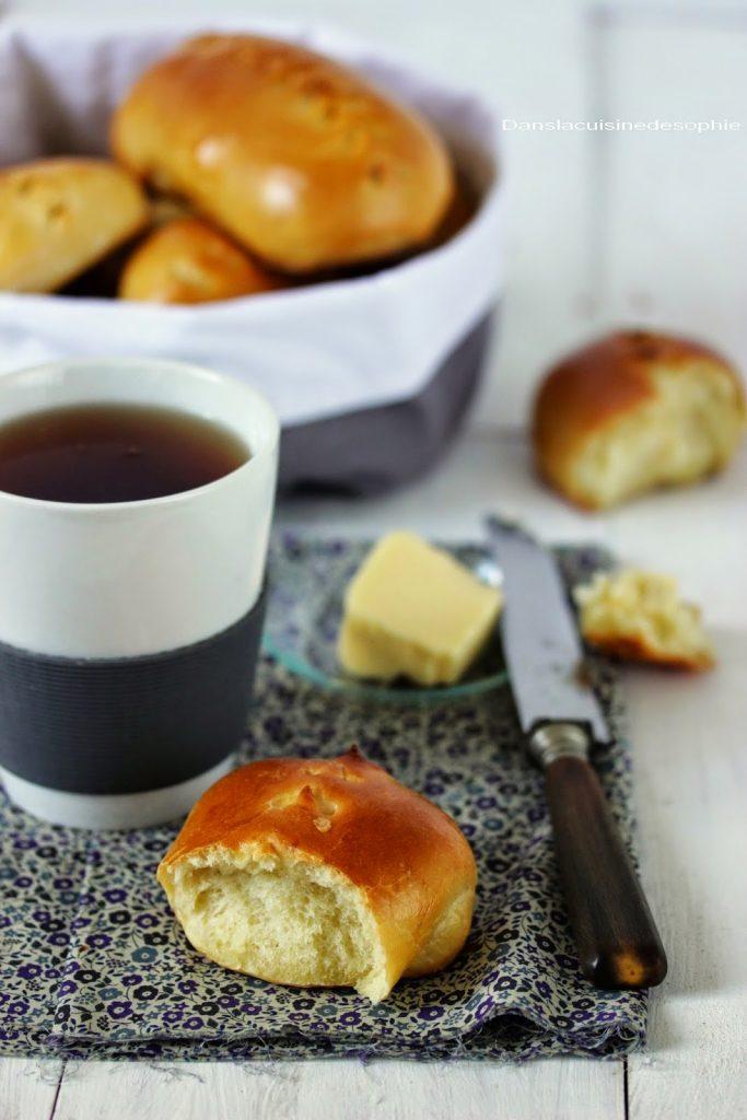 Petits pains au lait moelleux et légers