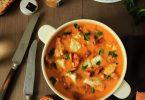 Blanquette de poisson aux épices Retour des Indes