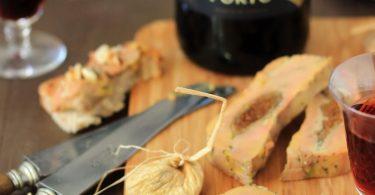 Terrine de foie gras mi-cuit aux figues et Porto Tawny