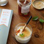 Pannacotta à la vanille et à l'abricot