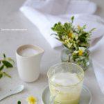 Matcha latte au chocolat blanc