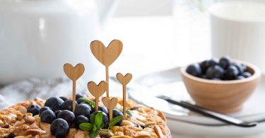 Gâteau aux myrtilles, citron et amandes de Yotam Ottolenghi