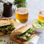 Sandwich Banh-mi au magret de canard