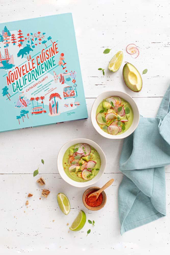 Livre La nouvelle cuisine californienne Cathleen Clarity aux éditions Hachette Cuisine