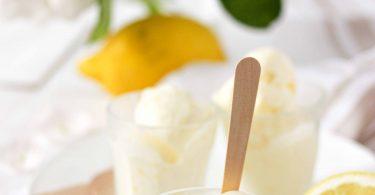 Glace sans sorbetière au citron de Mimi Thorisson
