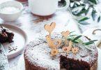 Torta Caprese gâteau italien au chocolat et aux amandes sans gluten