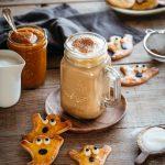 Biscuits sablés en forme de fantôme pour Halloween