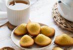 Madeleines au citron et au beurre