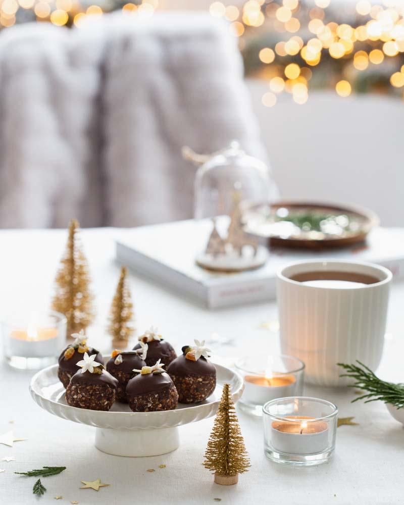 Energy balls de Jennifer Hart-Smith, un savoureux en-cas sain et gourmand à proposer pour les fêtes de noël
