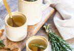 Tisane détox au curcuma, gingembre, cannelle et romarine