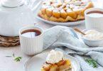 Tarte satin aux pommes confites type Michalak