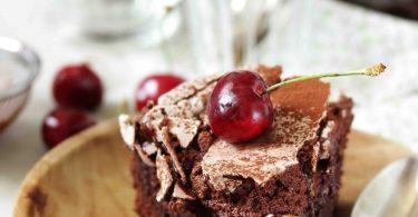 Gâteau choco-chocolat meringué