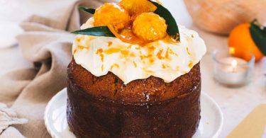 Gâteau aux oranges et huile d'olive