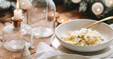 Ravioles à la truffe et crème de chou-fleur