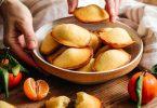 Assiette de madeleines à l'orange