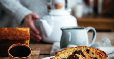 Cake marbré au lait ribot