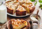 Gâteau au yaourt poires et amandes