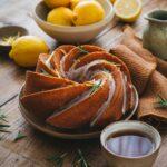 Bundt cake citron et huile d'olive